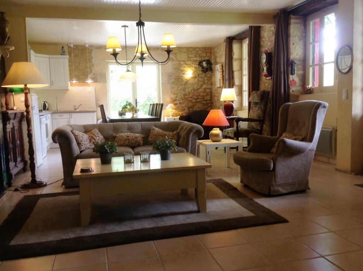 Interieur - Franse Gites - vakantiewoningen te huur LE LOT ...